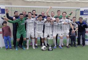 Regionalligist SV Waldhof gewinnt das MorgenMasters 2017 - Finalsieg über Türkspor Mannheim