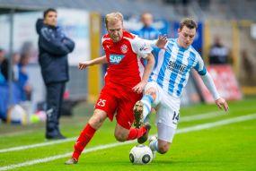 """Astoria Walldorf gewinnt beim SV Waldhof ++ Der DFB-Pokal bleibt für den SVW für ein weiteres Jahr """"Verbotene Zone""""."""