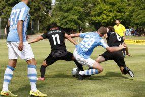 SV Waldhof Mannheim bezwingt FV Fortuna Heddesheim mit 4:1 (4:1) Toren