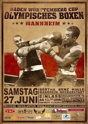 Olympisches Boxen kommt zurück nach Mannheim – erstes Boxturnier seit über 10 Jahren
