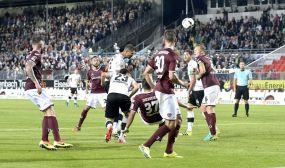 Der SV Sandhausen siegt verdient mit 2:0 über Dynamo Dresden