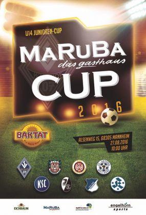 MARUBA-CUP 2016 auf der Seppl-Herberger-Sportanlage