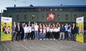 Perspektivteam 2020 der MRN öffentlich vorgestellt - Olympisches Athleten-BBQ in Schwetzingen mit 28 Nachwuchsathleten aus 11 Sportarten