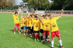 Drei Tage Spaß für Kids in Tonis Fußball-Camp