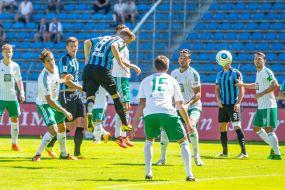 """Waldhof gewinnt im """"Glutofen-Spiel"""" gegen Homburg +++ Tabellenführung verteidigt"""