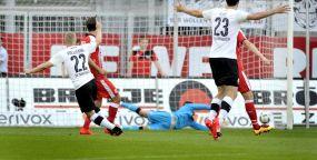 Kocak's Zweitliga-Debut beim SVS +++ Starke Anfangsphase reicht nicht für Sieg +++ 2:2 gegen Düsseldorf
