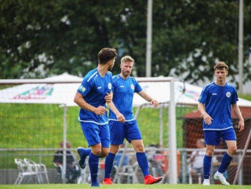 15 Tore beim Spiel FV Nußloch - VfL Kurpfalz Neckarau ++ 8:7 n. Elfm.