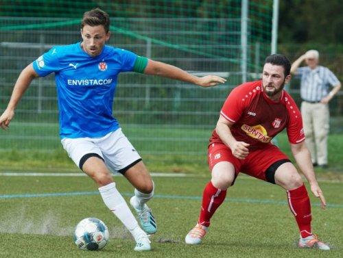 Der VfR Mannheim lässt es beim FC Rot krachen ++ 8:0 (3:0)