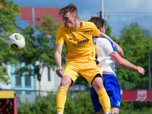 Fabio Hechler vom VfB Gartenstadt spielt zukünftig für den SV Unter-Flockenbach