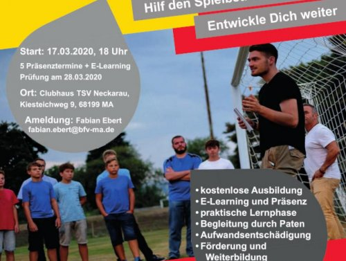 Jeder kann Schiri werden! Ausbildung im Kreis Mannheim