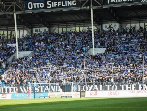 Am Ende musste nochmals gezittert werden ++ SV Waldhof bezwingt Hallescher FC 2:1 (2:1)