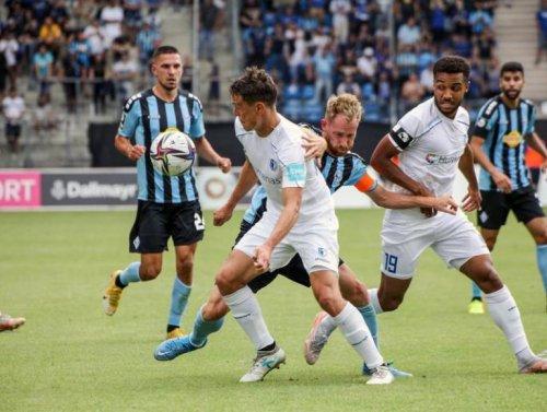 Das hatte man sich anders vorgestellt - Der SV Waldhof unterliegt Magdeburg 0:2