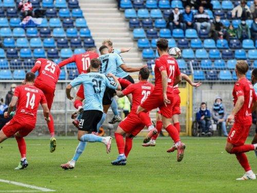 Am Ende fehlte das Happy End - Der SV Waldhof vergibt viele Chancen und spielt 1:1 (0:0) gegen Zwickau