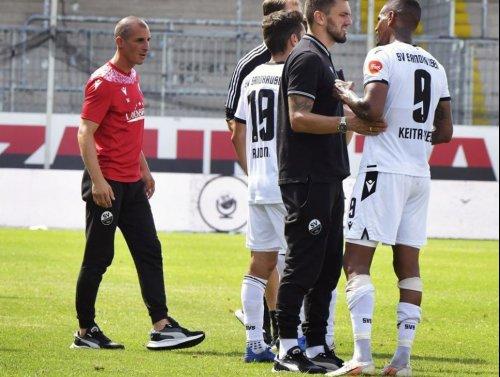 SV Sandhausen kassiert 0:3-Niederlage in Regensburg