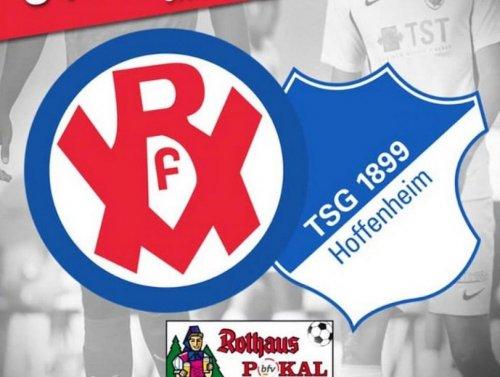 Die U19 des VfR Mannheim empfängt die TSG Hoffenheim zum Pokalschlager