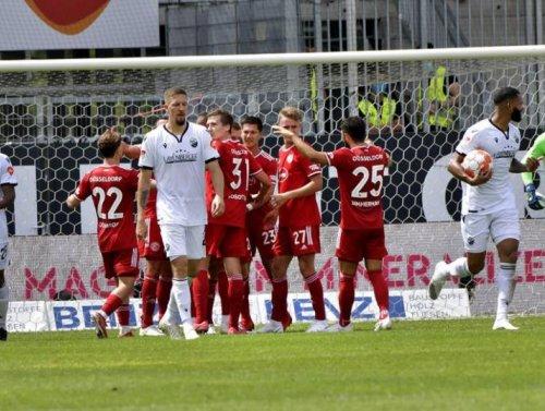 0:2-Niederlage zum Auftakt gegen Fortuna Düsseldorf