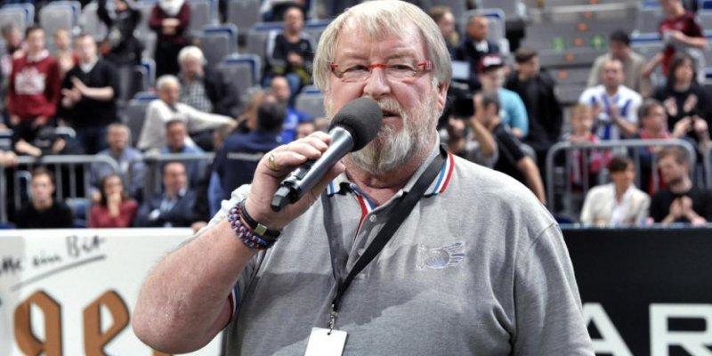 Große Sorgen um Adler-Stadionsprecher Udo Scholz - Nach Herzstillstand auf Intensivstation