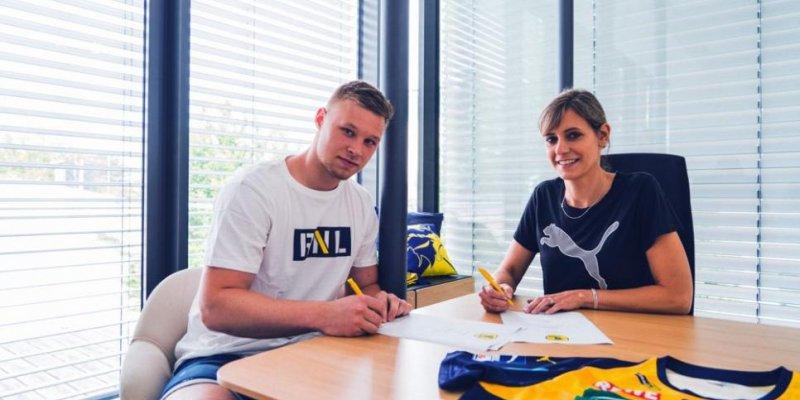 Verpflichtung für die Zukunft: Löwen sichern sich slowenischen Kreisläufer