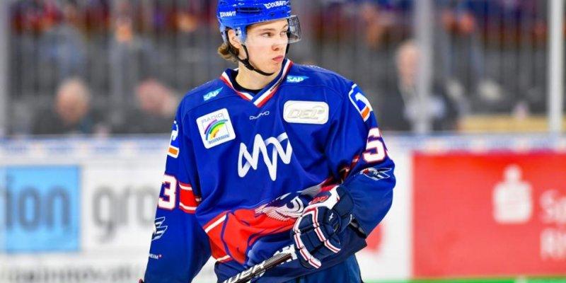 Moritz Seider kehrt auf Leihbasis zu den Adler Mannheim zurück