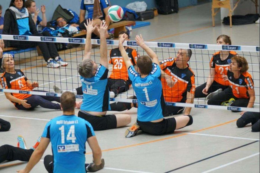 Hoffenheim-Derby bei der Deutschen Meisterschaft im Sitzvolleyball