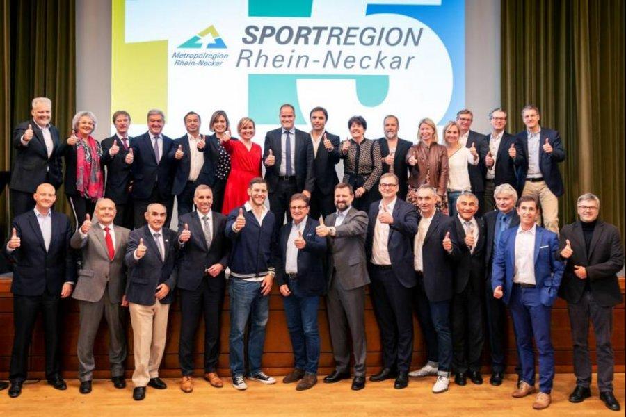 15 Jahre Sportregion Rhein-Neckar: Wenn aus einer Vision Realität wird