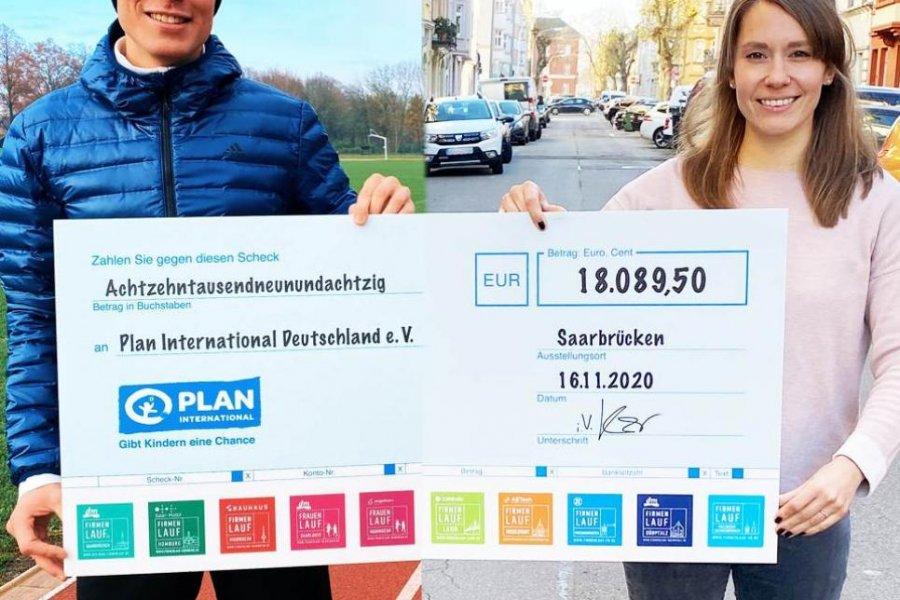 engelhorn sports Frauenlauf Mannheim und weitere Läufe spenden 23.000€ für den guten Zweck