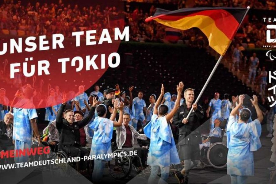 Das Team Deutschland Paralympics für Tokio