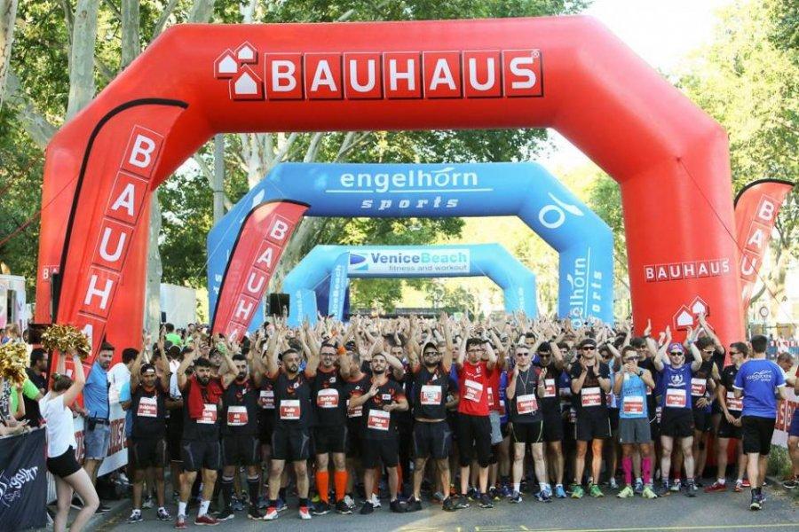 Der virtuelle BAUHAUS Firmenlauf Mannheim #mannheimläuft wird zum Rahmenprogramm