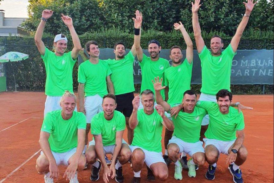 Grün-Weiß Mannheim feiert in der Tennis Bundesliga den Titel Hattrick
